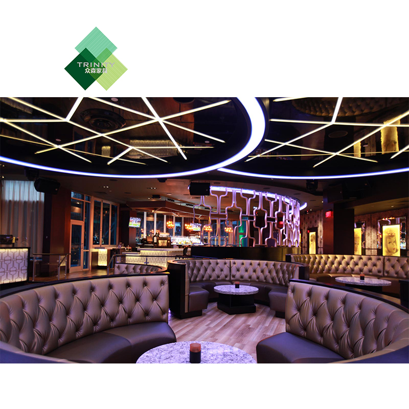 factory custom night club vip <strong>bar</strong> table furniture used velvet fabric sofas for nightclub lounge <strong>bar</strong>