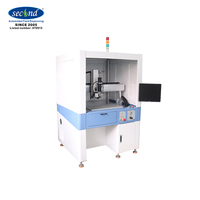 SEC-500BD High quality high precision SMT coating conductive adhesive automatic dispensing robot machine for 5G mobile phone