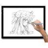Huion A3 paper drawing tracing brightness adjustable flexibly LED light pad for artist