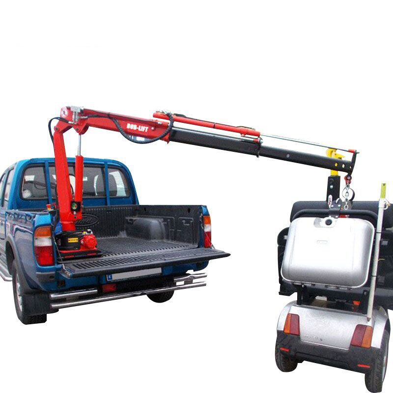 Kleine Mini Hydraulische Boom Pick Up Crane 12 v