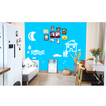 Eco-friendly Magnetic colorful whiteboard for Office