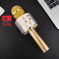 Karaoke Microphone Handheld Wireless Speaker WS 858 Q5 Q7 Q9 WS1816 Professional Handheld USB Charger KTV Microphone for Karaoke