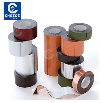 Construction Building Self Adhesive Bitumen Flashing Band For Waterproofing  - Buy Self Adhesive Bitumen Strip,Self Adhesive Waterproof Bitumen Tar