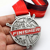 Custom Contest Sprint Sports Award Medal With Sublimation Ribbon