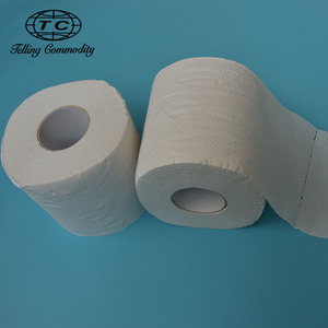 Wholesale custom unbleached bamboo toilet paper