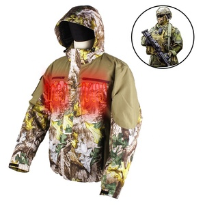 accd8d14cb30f New product outdoor breathable camouflage battery heated hunting sports  jacket for outdoor sports