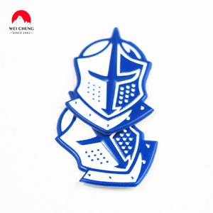 helmet gift high quality iron on matte sticker accessories tpu patch