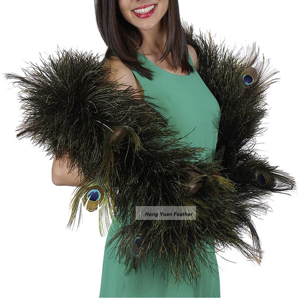Commercio all'ingrosso Costumi Regali Dress Up Partito Accessori Da Sposa Feather Boas Decorazioni E Boa di Piume di Massa