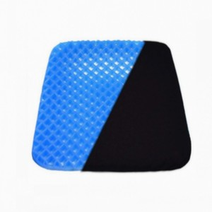 Relieve Fatigue Coccyx Pain Alleviate Memory Foam Thicken Elastic Cooling TPE Gel Seat Cushion
