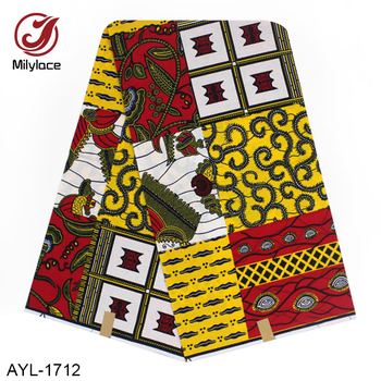 Ankara africain 100% coton 6 yards impression hollandaise tissu de cire hollandaise