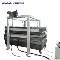 JFK-1830 CE certification 2 Layers Glass Processing/glass fusing kiln oven hot bending furnace machine