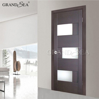 High-quality HDF foreign elegant fiberglass exotic wood doors