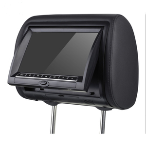 Factory price support entertainment game dvd 9 inch rear seat car monitor headrest screen