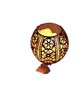 Crystal Decor Natural Pakistan Himalayan Salt Lamp in Metal Basket with  Dimmable Cord