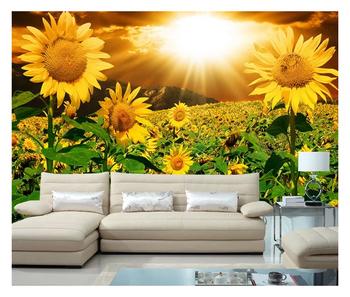 Wallpaper Murals Nature Sunflower Walpper 3d Wallpaper Natur Design Wallpaper Hd Images Buy Sunflower Wallpaper3d Wallpaper Nature Designnature
