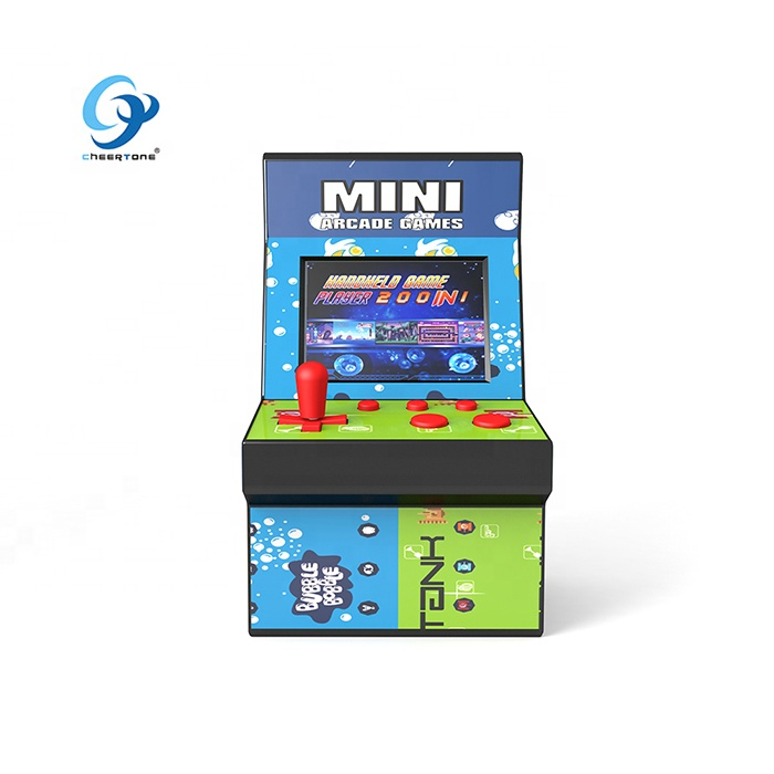 2019 hot selling 8 bit mini draagbare arcade game machine CT882B