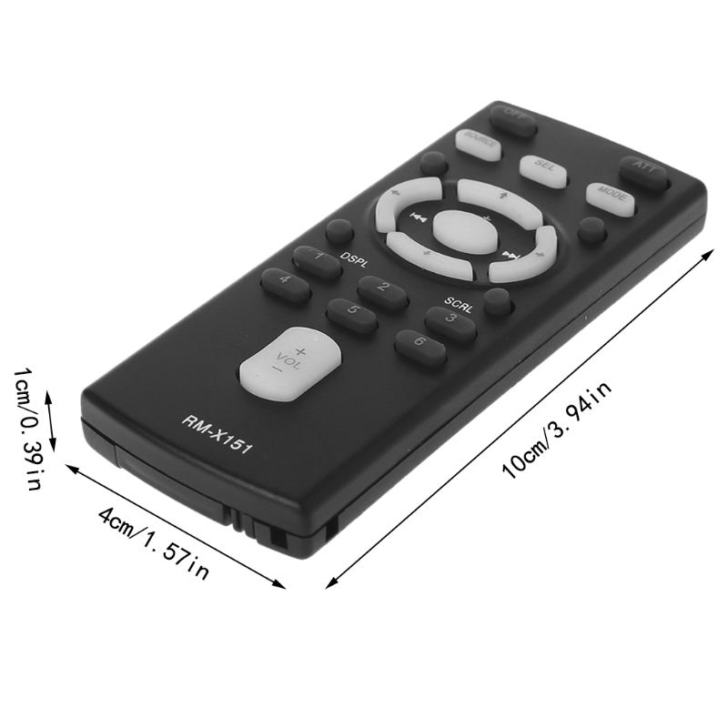 Replace RM-X151 Car/Boat Audio Remote Control For Sony CDX-GT300 GT520 G333