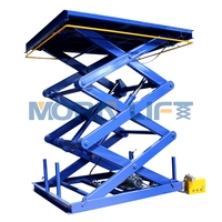 1Ton Stationary Hydraulic Vertical Scissor Lift for Cargoes