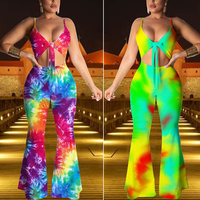 2019 Summer New Listing Fashion Jumpsuit Two Piece Set Women Clothing