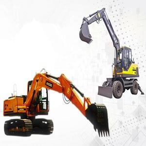 Customized hydraulic system wheel hydraulic excavator
