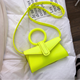 2019 Chic ring small purse for women new fashion Korean version mini simple handbag for women retro style crossbody bag