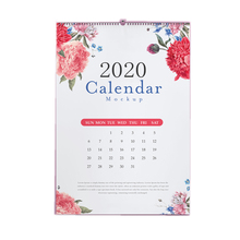 Shenzhen personalizado barato a3 calendario de pared <span class=keywords><strong>arte</strong></span> diseño calendario de pared 2020
