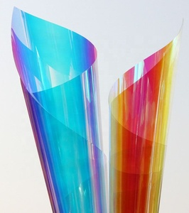 Vis Film eco-friendly PET material dichroic rainbow iridescent window glass decorative film