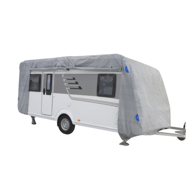 Waterdichte Vier-layer non-woven Caravan Cover RV Camper Cover