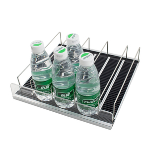 Automatically Keep Beverage Beer Bottle Cans Drinks Front Faced Gravity Flow Shelving