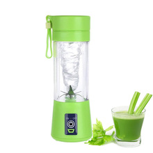 Kitchen appliance 380ml Mini usb rechargeable portable blender/blender fruit
