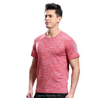 wholesale running athletic apparel manufacturers dry fit gym sport t-shirts for men