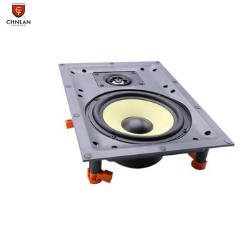 "Two way 6.5"" 8 ohm 40w Frameless Hifi In-Wall Speaker for Home Theatre System"