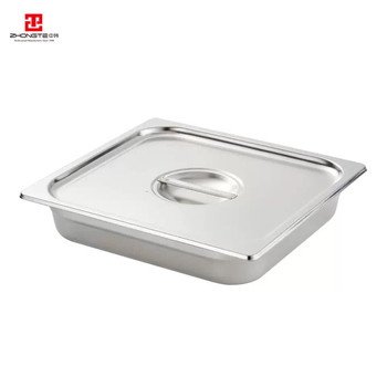 stainless steel 100mm deep kitchen restaurant used food warmer