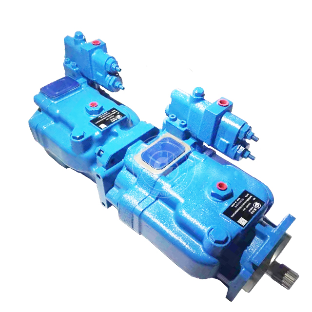 Manufacturer direct sales eaton vickers PVH098+PVH141 hydraulic double piston pump in stock