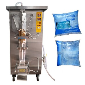 China automatic drinking distilled water sachets packing machine