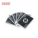 Custom paper plastic tarot game education poker casino cards with plastic tin paper box printing
