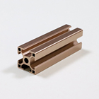 Toshine extrusion aluminum profiles t slot channel for wardrobe