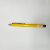 OEM Cheap Metal Stylus Pen Short Touch Stylus Ballpoint Pen Yellow Pen For Promotion