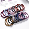 Best Selling In Amazon Custom Elastic Rubber Hair Ties Set