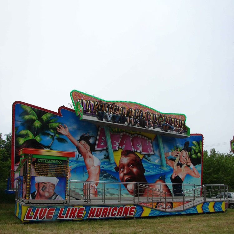 Elektrische Amusement Games Mobiele Mini Miami Crazy Wave Koorts Ritten