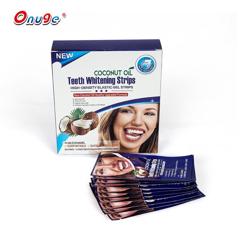 Amazon top verkoper 2019 3d tanden whitening strips private label wit tandjes