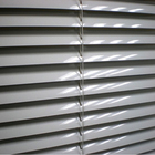 wholesale manufacturer price custom made exterior 50mm aluminum outdoor roller venetian slats window blinds aluminum