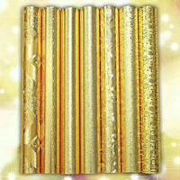 high quality gold glitter fireproof wallpaper metallic chunky