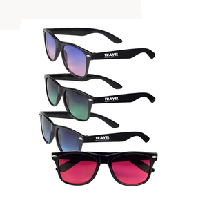 Promotional Customised Logo PC Frame Sports Mens Sunglasses