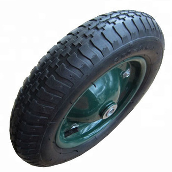 13 inch rubber pneumatic wheel wheelbarrow tire 3.25 8