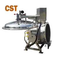 high temperature stainless steel commercial industrial pressure cooker for food processing