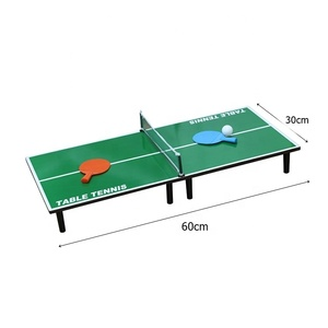 Indoor sport game children 60cm portable mini table tennis ball table ping pong tabletop game