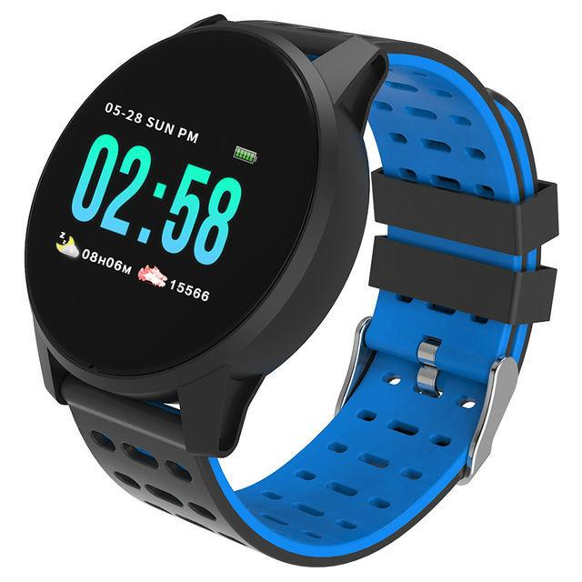 Ce Rohs Round Head Smart Watch Bracelet