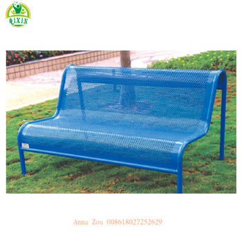 Astounding China Steel Bench Brackets Cheap Blue Cast Iron Park Benches Outdoor Furniture Metal Frame Garden Chair Qx 145F Buy Steel Bench Brackets Cast Iron Caraccident5 Cool Chair Designs And Ideas Caraccident5Info
