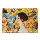 Gift Packing Women 100% Silk Scarf Van Gogh Monet Famous Painter Painted Scarves